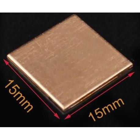 Disipador de Cobre de 15x15mm
