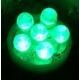 Bombillas LED T10 W5W Verde 12v