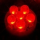 Bombillas LED T10 W5W Rojo 12v