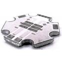 Circuito impreso 20mm para 2 Led Cree Xp-Xt