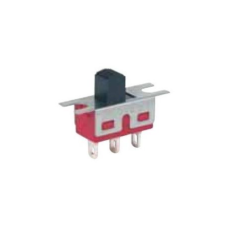 Interruptor deslizante recto 2 posiciones pin cable