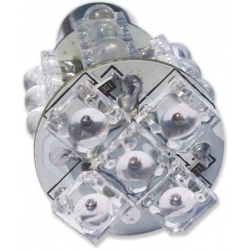Bombillas 20 Led Superflux P21 12v-1 contacto