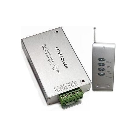Dimmer PWM RF para 3 canales Led 12-24v.15A.