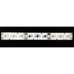 Pcb en Linea para 9 Led Lumiled 234x24mm