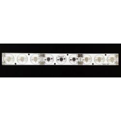 Pcb Linea 234x24mm para 9 Led Lumiled