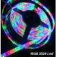 Tira flexibles IP65 60 Led/metro Led 3528 RGB