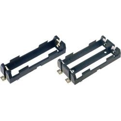 Portapilas baterías 18650 SMD Keystone