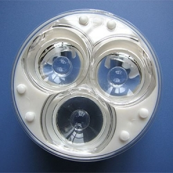 Reflectores-Lentes MultiLed de 50mm para 3 Led
