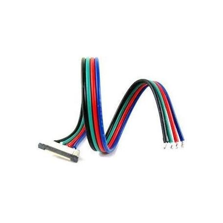 Conector Tira-Alimentacion 10mm RGB