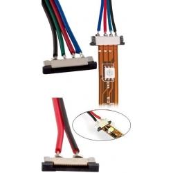 Conectores cableados FPC para Tiras de Led