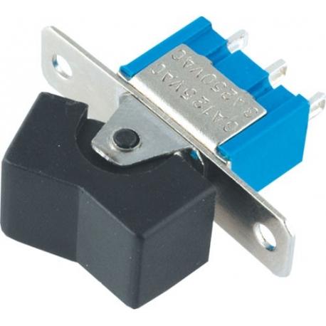 Pulsador conmutado basculante L123 2 posiciones