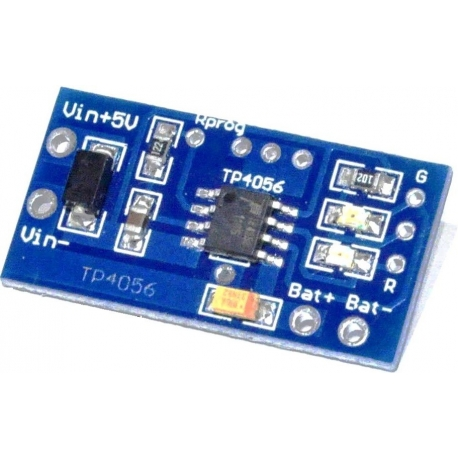 Mini Pcb cargador Litio 5v.TP4056 1A