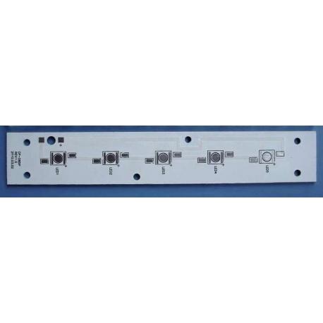 Pcb Linea 155x26mm para 6 Led Lumiled