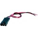 Conector 70543 2.54mm con Cables para Baterías