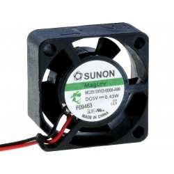 Ventilador refrigeración 5v. 25x25x10mm MC25100