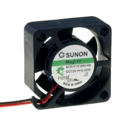 Ventilador SUNON 12v de 25x25x10mm