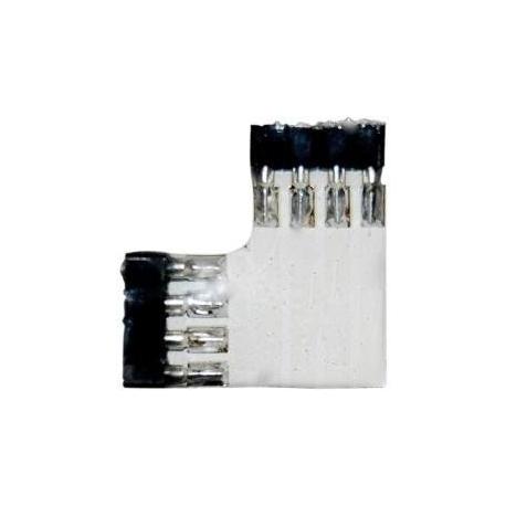 Empalmes Tiras Led RGB 4 pin torneado