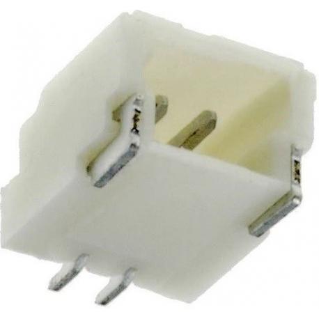 Micro Conectores paso 1mm Macho 2pin Horiz