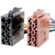 Cable conectores Altavoz-automovil ZRS-ISO-1A