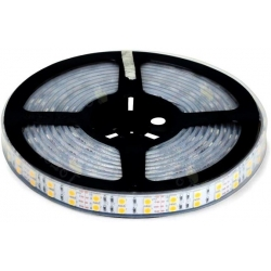 Tiras flexible de 120 Led 5050 Siliconado IP65 24v