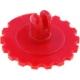 Ejes tipo rueda para Resistencia ajustable PT15 Rojo