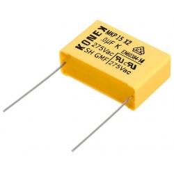 Condensador Capacitor 470nF 275v X2 Konek Raster 22.5mm