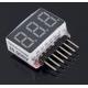 Mini Monitor Digital de baterías Li-po