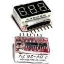 Mini Monitor Digital de baterías Li-po-Litio