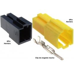 Juego Conectores Mini ISO Hembra