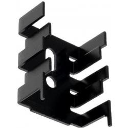 Disipador Térmico Aluminio en U 33x25x13mm