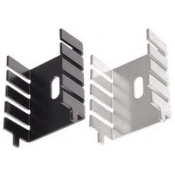 Disipador Térmico Aluminio Extrusionado en U 33x25x13mm