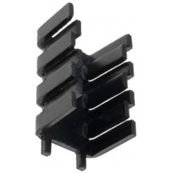 Disipador Térmico Aluminio en U 32x18.5x15mm