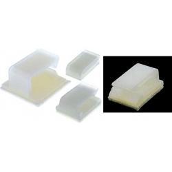 Sujeta Cables Adhesivos de Nylon