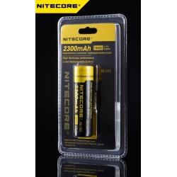Batería 18650 de Litio 3.7v 2.300mA Nitecore Protegida NL183
