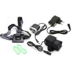 Linterna bicicleta-Casco D92 CREE XML L2 1800Lm