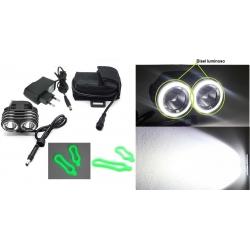 Linterna bicicleta XM19 CREE XML L2 1800Lm