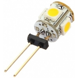 Led G4 Vertical Bi-Pin 5 led SMD 5050