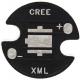 Pcb 16mm Negro para Led CREE XM-L