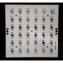 Circuito Impreso 36 Led Lumiled 160x160x2mm