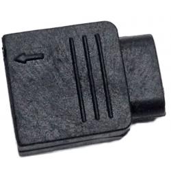 Fundas Conectores 4 Pin Negro para Tiras de Led