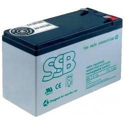 Batería Plomo Gel recargable de 12v.7.2A