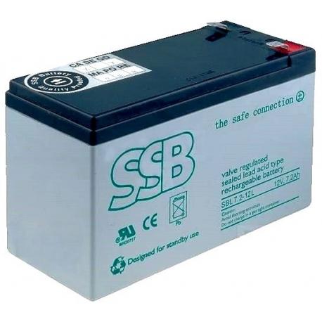 Bateria Plomo Gel recargable de 12v.7.2A