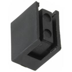 Soporte de plastico Acodado para Led 3mm