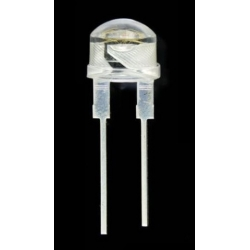 Led 8mm Straw Hat UV 500mW