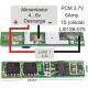 PCM para Li-Po de 3.7v.6A.LI01S6-075