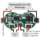 PCM Li-Po 7.4v 8A 2x18650.LI02S8-040