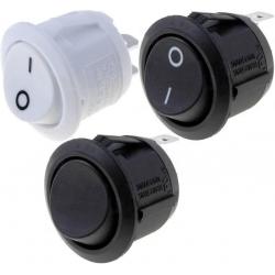 Interruptor basculante (Rocker) R1311 Blanco o Negro