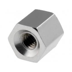 Separadores hexagonales metal rosca interior m4