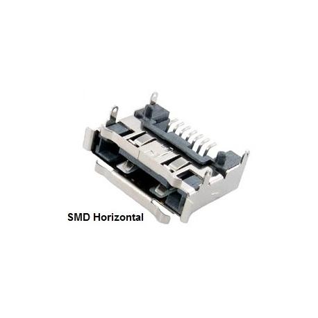 Conector Hembra SATA SMD