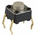 Pulsador Tact Switch de 6x6mm B3F 5